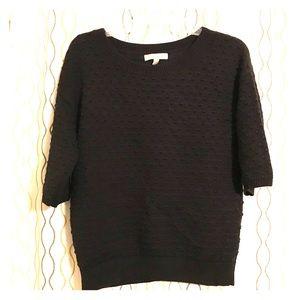 Black Banana Republic blousy sweater